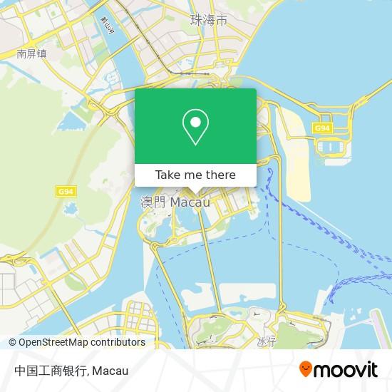 中国工商银行 map