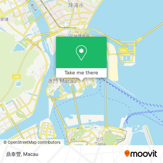 鼎泰豐 map