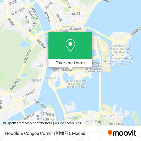 Noodle & Congee Corner (粥麵莊) map
