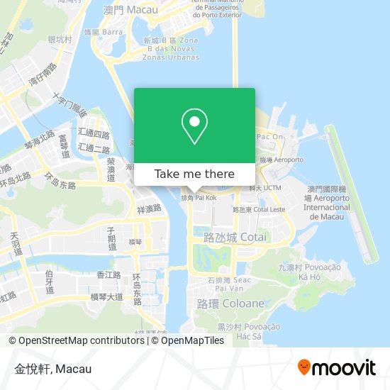 金悅軒 map
