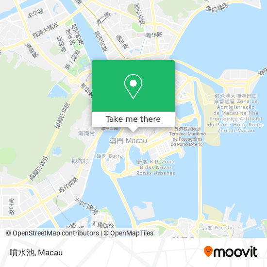 噴水池 map
