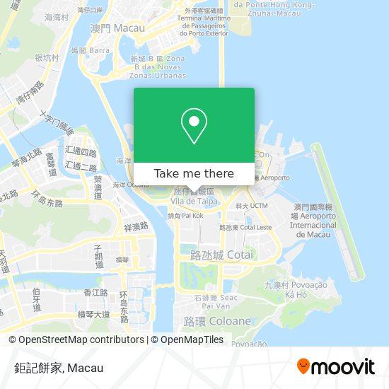 鉅記餅家 map