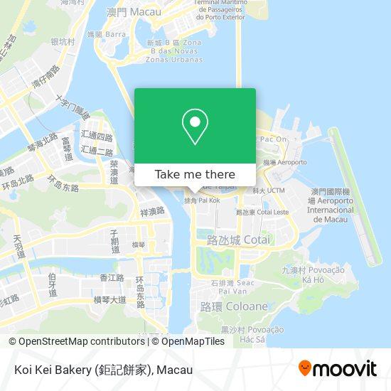 Koi Kei Bakery (鉅記餅家) map