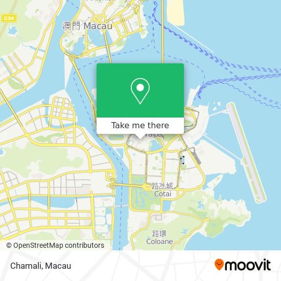 Chamali map