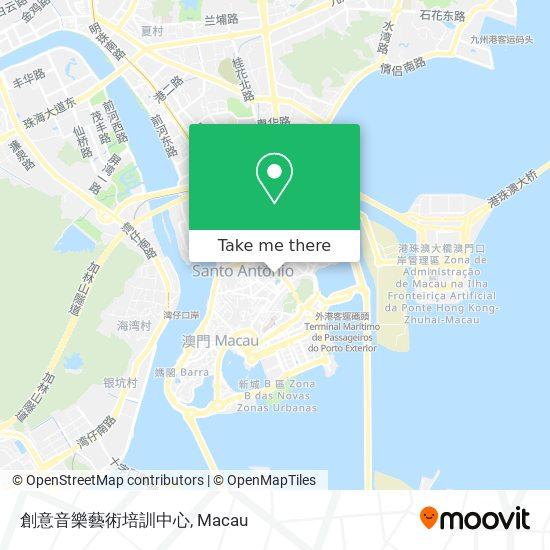 創意音樂藝術培訓中心 map