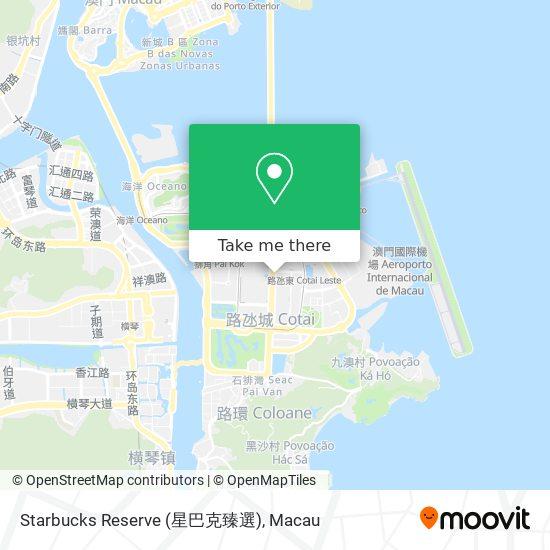 Starbucks Reserve (星巴克臻選) map