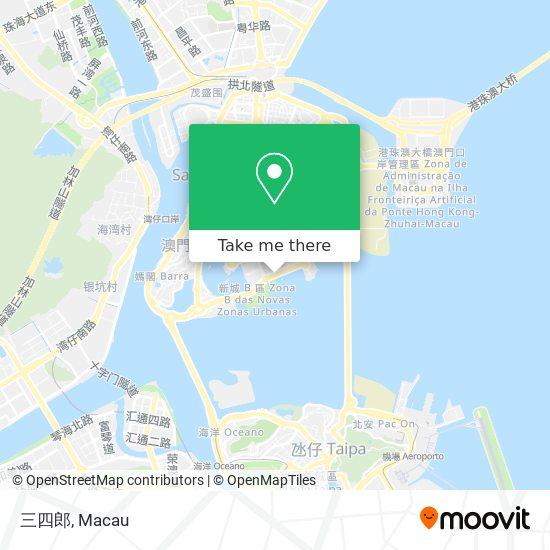 三四郎 map