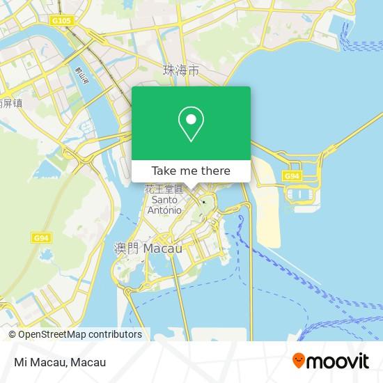 Mi Macau map