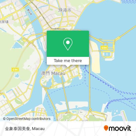 金象泰国美食 map