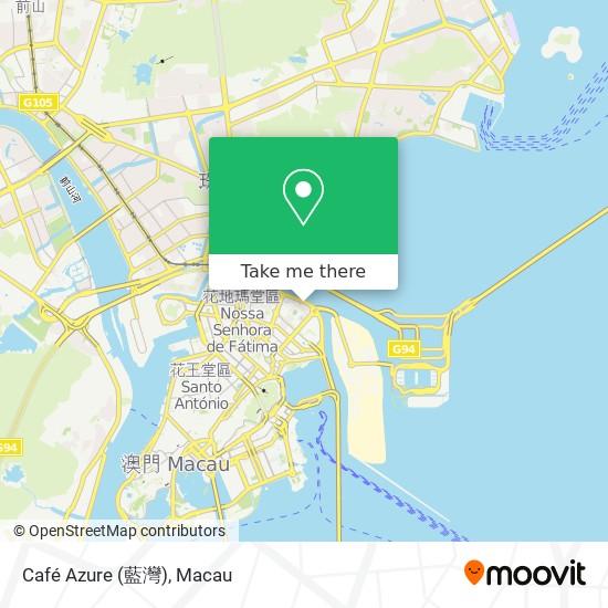 Café Azure (藍灣) map