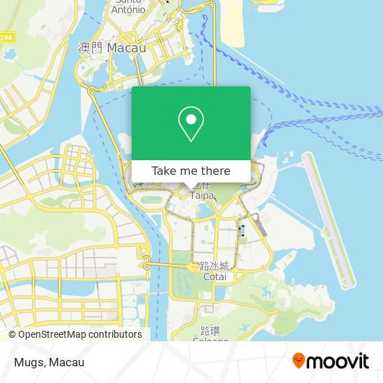 Mugs map