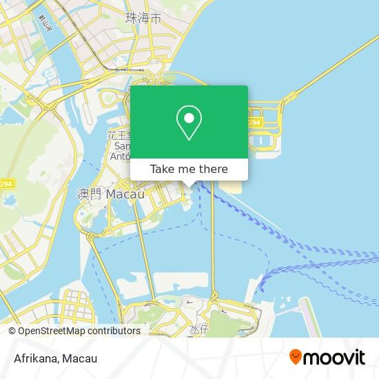Afrikana map