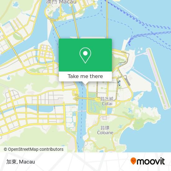 加東 map