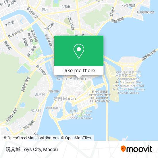 玩具城 Toys City map
