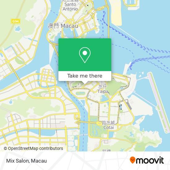 Mix Salon map