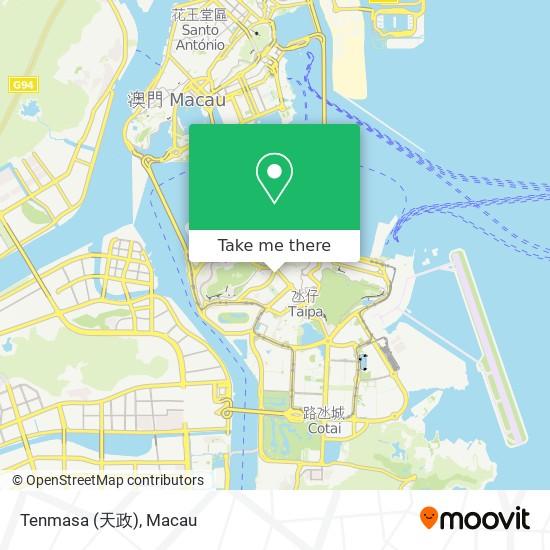 Tenmasa (天政) map