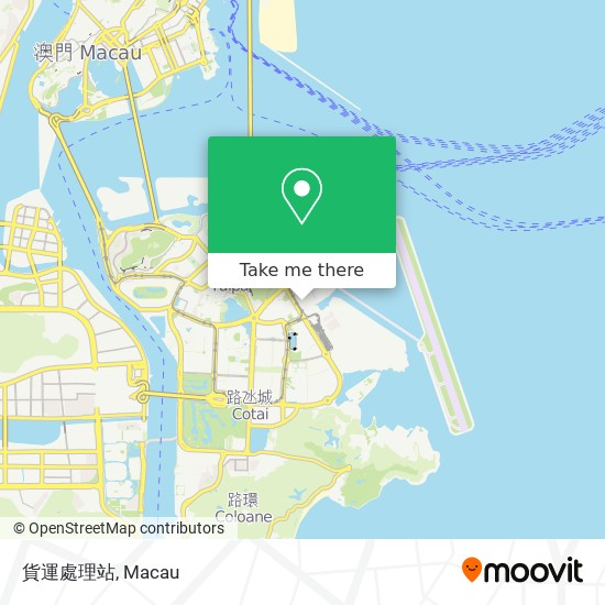 貨運處理站 map