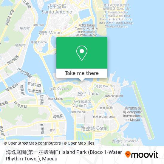海逸庭園(第一座聽濤軒) map