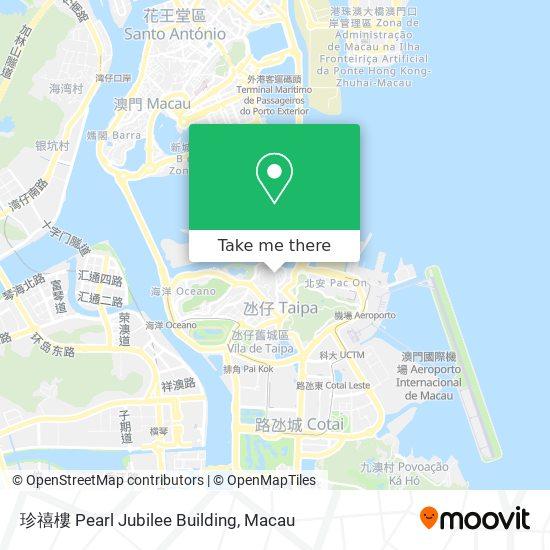 珍禧樓 Pearl Jubilee Building map