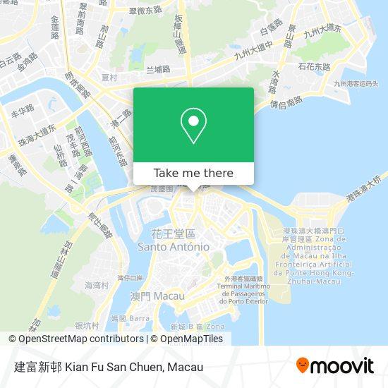 建富新邨 Kian Fu San Chuen map