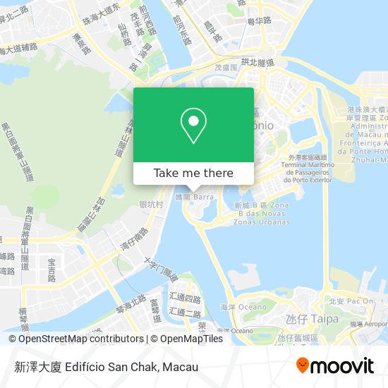 新澤大廈 Edifício San Chak map