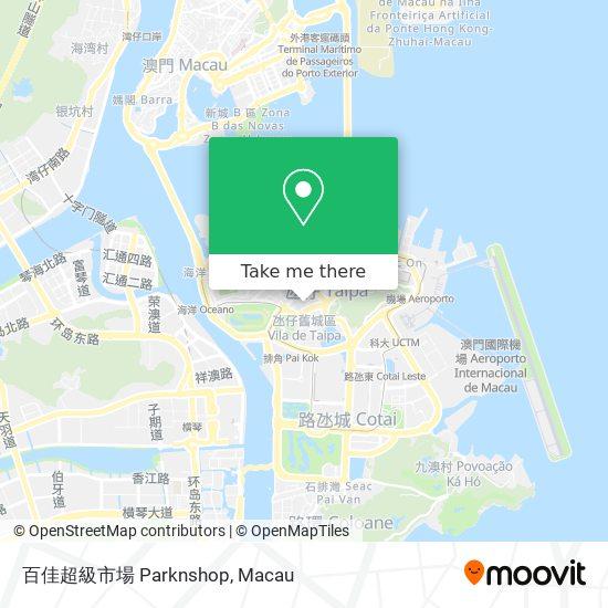 百佳超級市場 Parknshop map