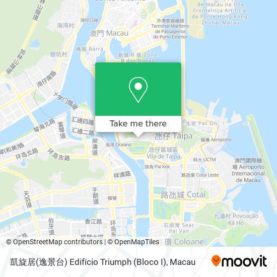 凱旋居 Edifício Triumph map