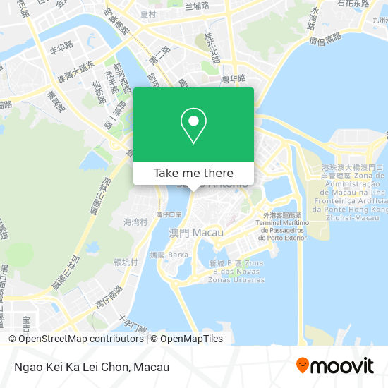 Ngao Kei Ka Lei Chon map