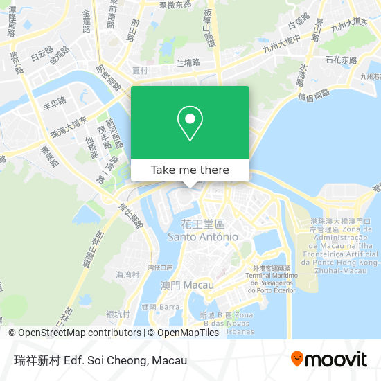 瑞祥新村 Edf. Soi Cheong map