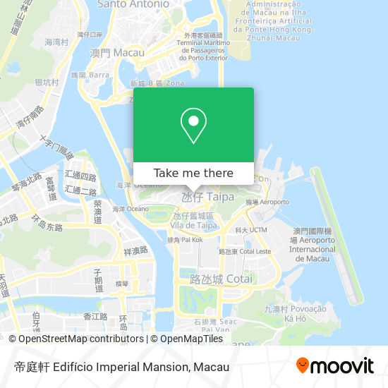 帝庭軒 Edifício Imperial Mansion map
