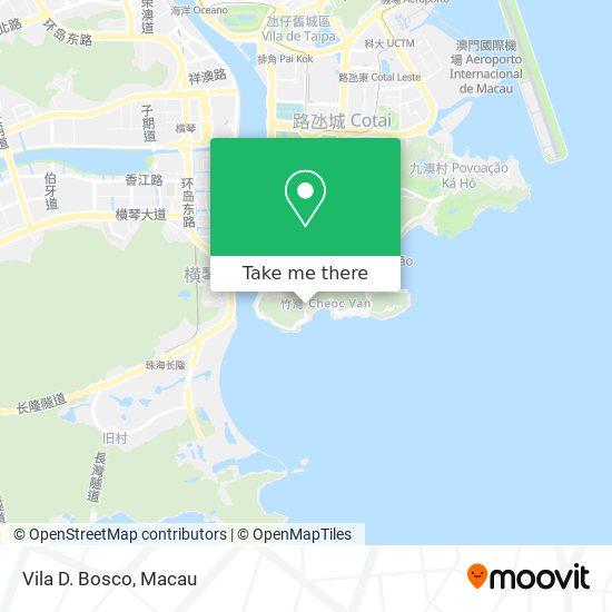Vila D. Bosco map