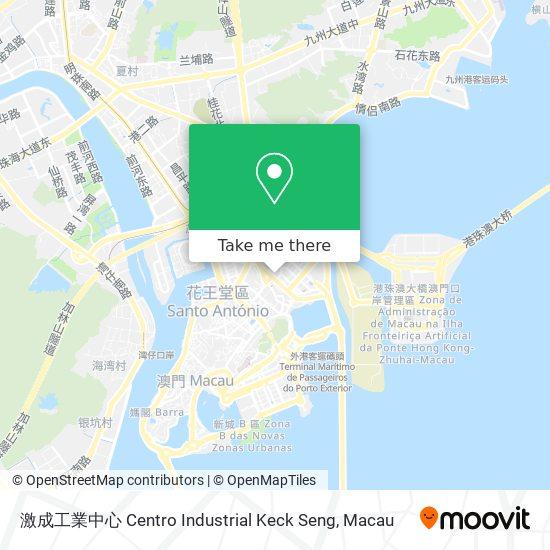 激成工業中心 Centro Industrial Keck Seng map