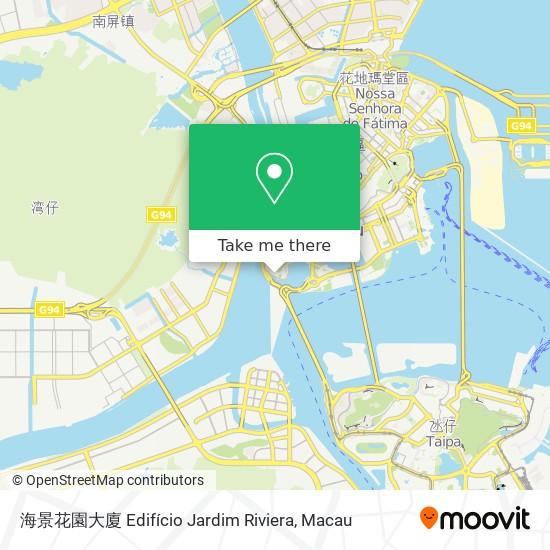 海景花園大廈 Edifício Jardim Riviera map