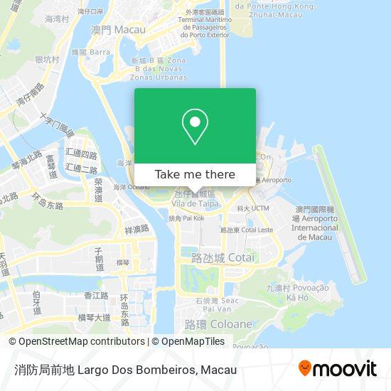 消防局前地 Largo Dos Bombeiros map