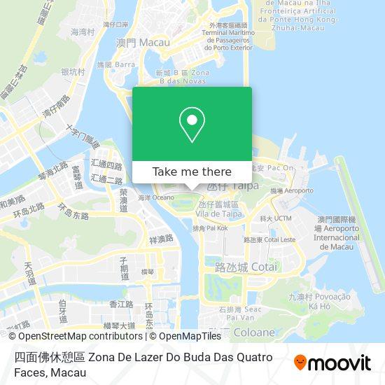 四面佛休憩區 Zona De Lazer Do Buda Das Quatro Faces map