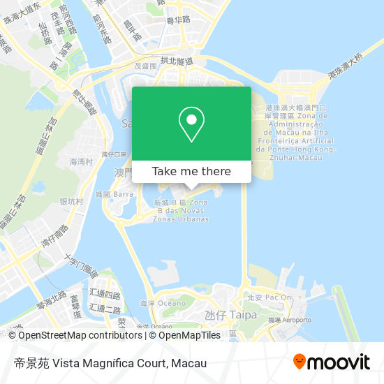 帝景苑 Vista Magnífica Court map