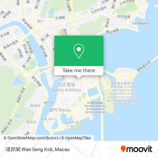 環昇閣 Wan Seng Kok map