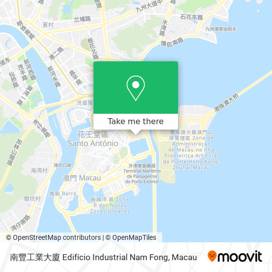 南豐工業大廈 Edifício Industrial Nam Fong map