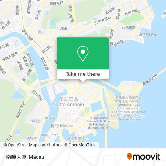 南暉大廈 map