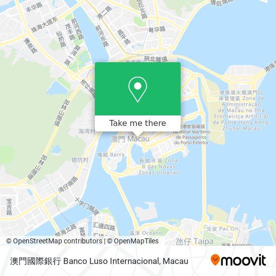澳門國際銀行 Banco Luso Internacional map