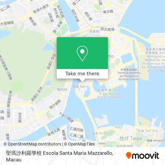 聖瑪沙利羅學校 Escola Santa Maria Mazzarello map