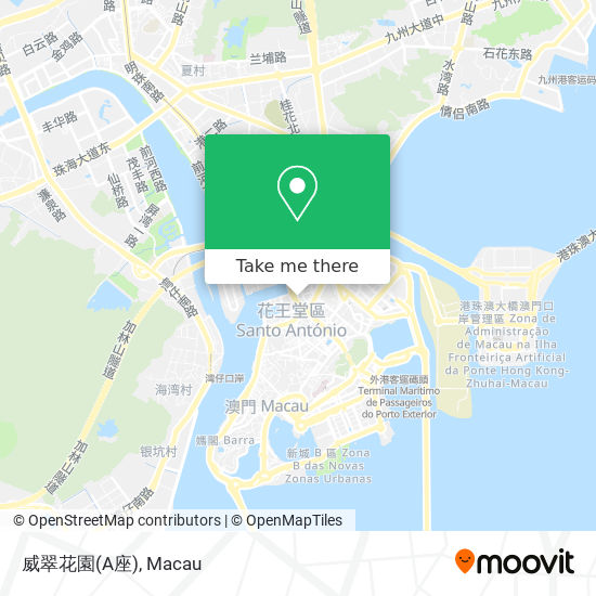 威翠花園(A座) map