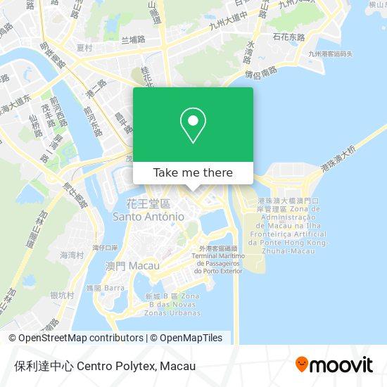保利達中心 Centro Polytex map