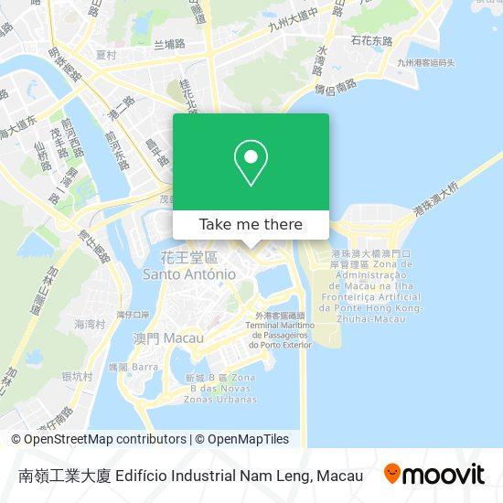 南嶺工業大廈 Edifício Industrial Nam Leng map