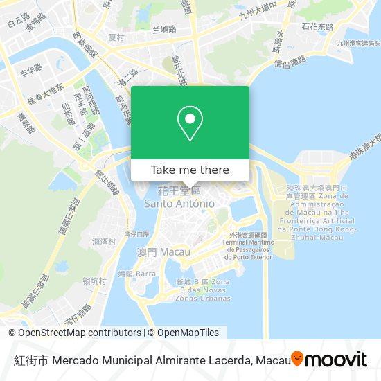 紅街市 Mercado Municipal Almirante Lacerda map