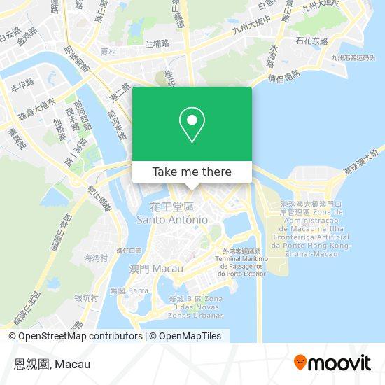 鏡湖醫院慈善會殯儀館 Associação De Beneficência Do Hospital Kiang Wu Casa Mortuaria map