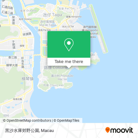 黑沙水庫郊野公園 map