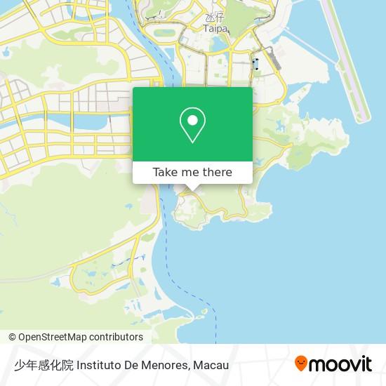 少年感化院 Instituto De Menores map