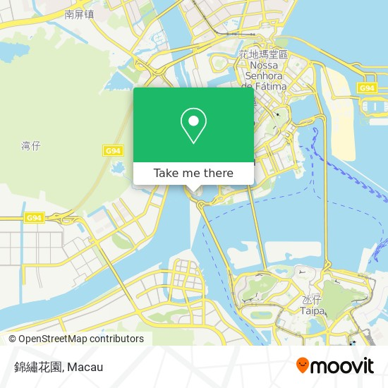 錦繡花園 map
