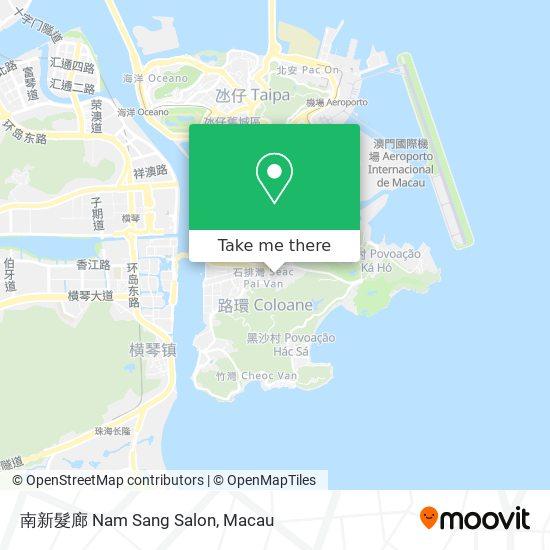 南新髮廊 Nam Sang Salon map
